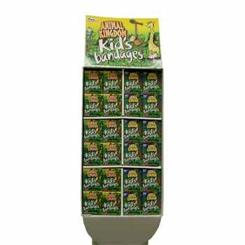 Wholesale Coralite Animal Kingdom Bandages - Floor Display