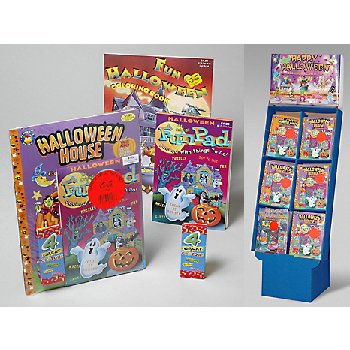 Wholesale Halloween Activity Pack