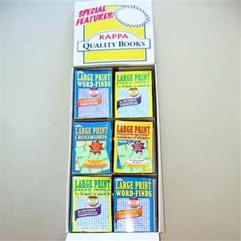 Wholesale Large Print Word Find/Cross Words - Floor Display