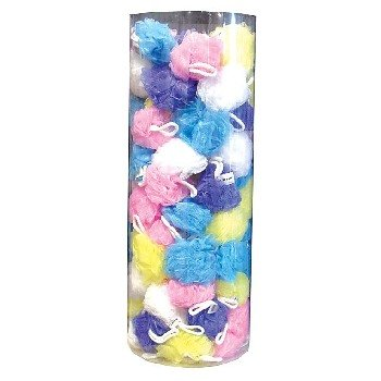 Wholesale Bath Puff Cylinder