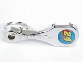 Wholesale Jeff Gordon #24 - New! Connecting Rod Key Chain/Op