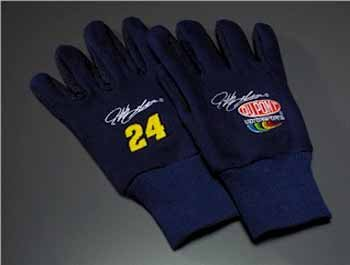 Wholesale Jeff Gordon #24 Logo Work Gloves