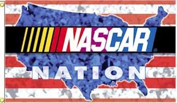 Wholesale Nascar Nation 3x5' Flags