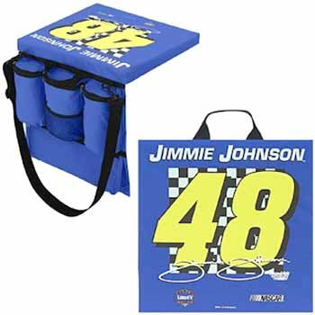 Wholesale Jimmie Johnson #48 - Seat Cushion/Tote New!