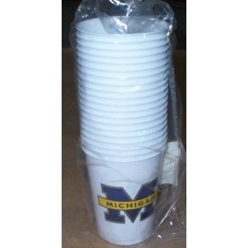 Wholesale Michigan University Plastic Cups