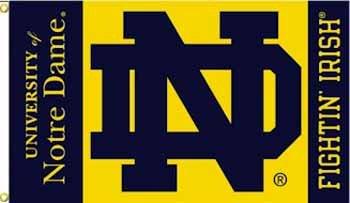 Wholesale Notre Dame 3 x 5 Flag