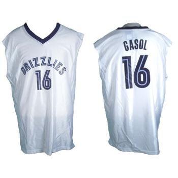 Wholesale Memphis Grizzlies Pau Gasol Replica Jersey