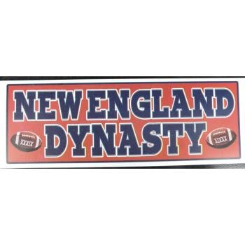 Wholesale New England Patriots Dynasty Stickers