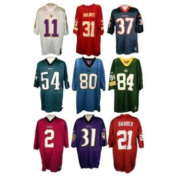 Wholesale NFL Past Player Mid-Tier Jersey Mix