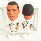 Soccerwe Stand 7 C.ronaldo Doll (RM 16-17 Season) White New Head