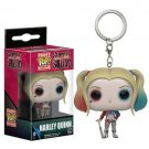 Funko pocket pop keychain DC comics Harley Quinn bobble head new in box