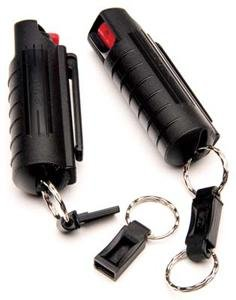 15% OC Pepper Spray in Plastic Holster Black #PSK5M-18  NEW  LAW  ENFORCEMENT  FORMULA