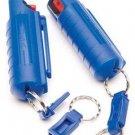 15% OC Pepper Spray in Plastic Holste Blue#PSK5M-18    NEW LAW  ENFORCEMENT