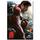 Avengers Age Of Ultron Movie Art Poster Print 32x24