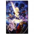 Fate Stay Night Anime Poster Fate Zero Altria Pendragon 32x24