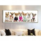 Cute Dogs Animal Minimalist Canvas Poster Picture Modern Home Decor 32x24