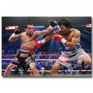 Manny Pacquiao Vs Juan Manuel Marquez Boxing Poster 32x24