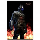 Batman Arkham Knight Game Fabric Poster Wall Decor 32x24