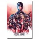 Captain America 3 Civil War Superhero New Movie Poster 32x24