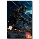 Black Panther Captain America Civil War Superhero Movie Poster Print 32x24