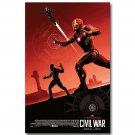 Captain America 3 Civil War Superhero New IMAX Movie Poster 32x24