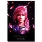 Final Fantasy XV Game Poster Lightning 32x24