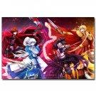 Fate Stay Night Anime Poster Fate Zero RWBY 32x24
