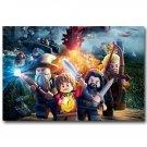 LEGO Movie The Hobbit 3 Poster Print 32x24
