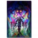 The Legend Of Zelda Majoras Mask Game Fabric Poster Print 32x24