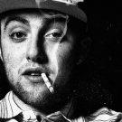 Mac Miller Smoke Rap Music Black White Print Large POSTER 32x24