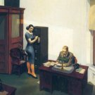 Edward Hopper Office At Night Fine Art Print 32x24