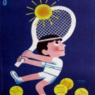 Vintage French Tennis Poster Print 32x24