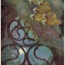 Edmund Dulac The Works Of Edgar Allan Poe Ii Fine Art Print 32x24