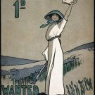 Votes For Women Vintage Political Wall Print POSTER Decor 32x24