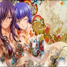 Anime Tattoo Girl Wall Print POSTER Decor 32x24