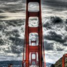 Golden Gate Bridge Wall Print POSTER Decor 32x24