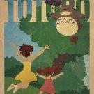 My Neighbor Totoro Animation Wall Print POSTER Decor 32x24
