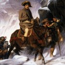 Napoleon Crossing The Alps Wall Print POSTER Decor 32x24