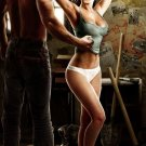 Art Design Girl Lara Croft Tomb Raider Wall Print POSTER Decor 32x24