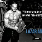 Lazar Angelov BodyBuilding Muscle Man Wall Print POSTER Decor 32x24