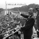 Martin Luther King Jr Wall Print POSTER Decor 32x24