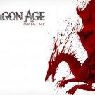 Dragon Age 1 2 Game Wall Print POSTER Decor 32x24