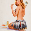 Ted Withers PIN UP Girl Art Print 32x24