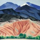 Georgia Okeeffe Black Mesa Landscape Fine Art Print 32x24