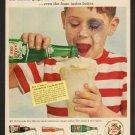 Vintage Canada Dry Ad Art Print 32x24