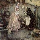 Edmund Dulac The Sleeping Beauty Fine Art Print 32x24