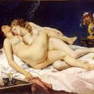 Gustave Courbet Sleep Fine Art Print 32x24