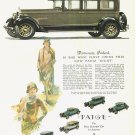 Vintage Paige Eight Car Ad Art Print 32x24