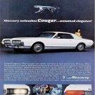 Vintage Mercury Cougar Car Ad Art Print 32x24