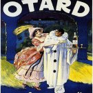 Vintage French Otard Cognac Poster Print 32x24